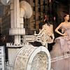 The window display at SAKS Fifth Avenue.