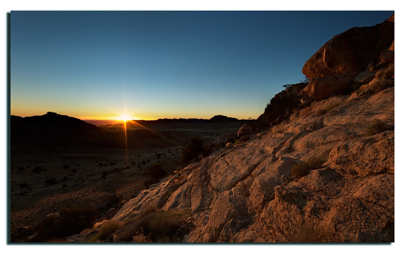 14. I'd had to climb the hills to capture the sunrise. Fortunately no snakes or other nasty critters.