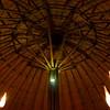 The main Boma at Mowani - a spectacular lodge.