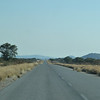 And so we're off to Damaraland, one of the remotest places in Africa. Otherwise known as rush hour in Namibia!