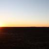 Sunset over Okonjima - it is a HUGE farm complex