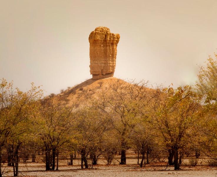 Finger stone, Namibia