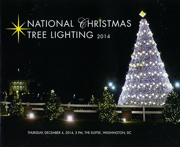 National Tree Lighting with President Obama (2014)