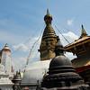 Here a stupa there a stupa