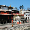 Pashupatinath - Holy Hindu temple on the pristine headwaters of the Bagmati River