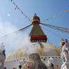 Even more smoking Stupa
