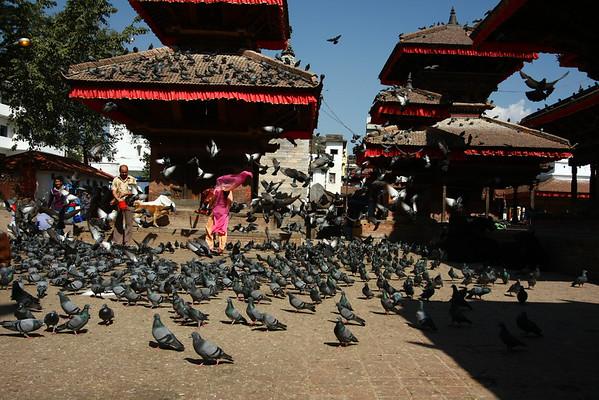 Durbar Square in Kathmandu.