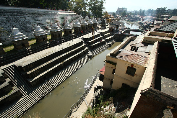 Pashupatinath Temple is a very important religious place dedicated to Lord Shiva - the Destroyer.