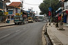Pokhara in the morning was almost deserted. Empty streets and even food was relatively difficult to find.