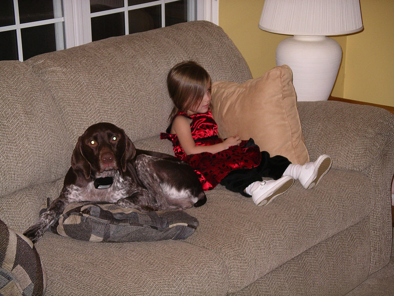 Excuse me, I thought this was MY couch where did she come from?