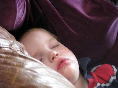 Sweet sleeping guy