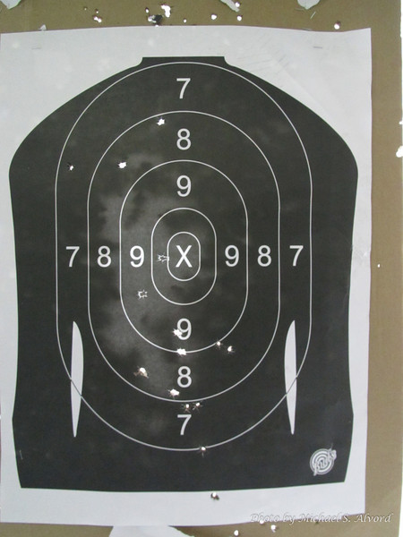 One of the days we went to the shooting range. We were able to rent a silenced Heckler & Koch MP5 machine gun. I also let Roe shoot it, what was I thinking! She actually did very well.