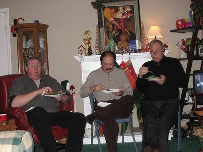 Mike, John and John - the men of Passport Travel.
