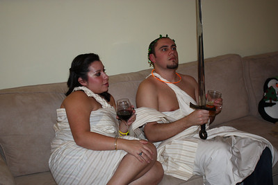 20081231 New Year's Eve Toga Party 014