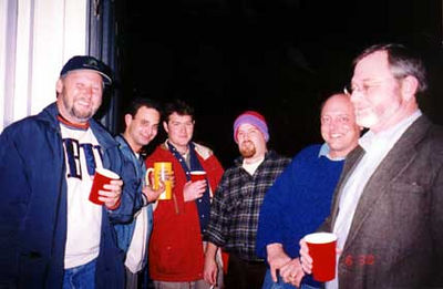 """<div CLASS=""""Caption"""">Group On the Balcony - December 31, 1997     <div CLASS=""""Location"""">Ricky's Apartment, Mobile, AL</div></div>     <div CLASS=""""Detail"""">Early in the night. Fred, myself, Kit, Duck, Russel, and I forget the other dude's name.</div>"""