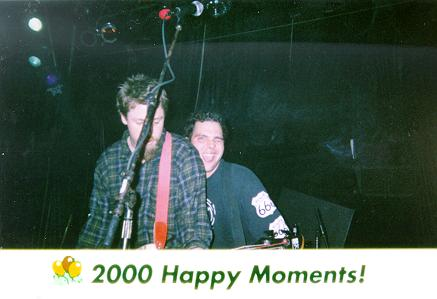 "<div CLASS=""Caption"">The Dash Boys - New Year's Eve, 1999->2000     <div CLASS=""Location"">Howlin' Wolf, New Orleans, LA</div></div>     <div CLASS=""Detail"">     Some pre-NYE activity, a couple of the boys of Buckshot now hamming it up with Dash.</div>"