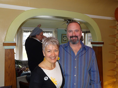 The party hosts, Diane and Jeff.