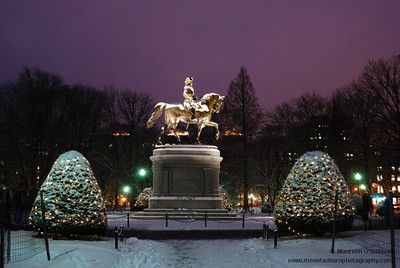 George Washington Statute, Public Gardens, Boston