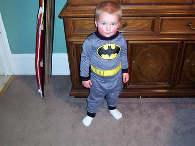 Wyatt as batman