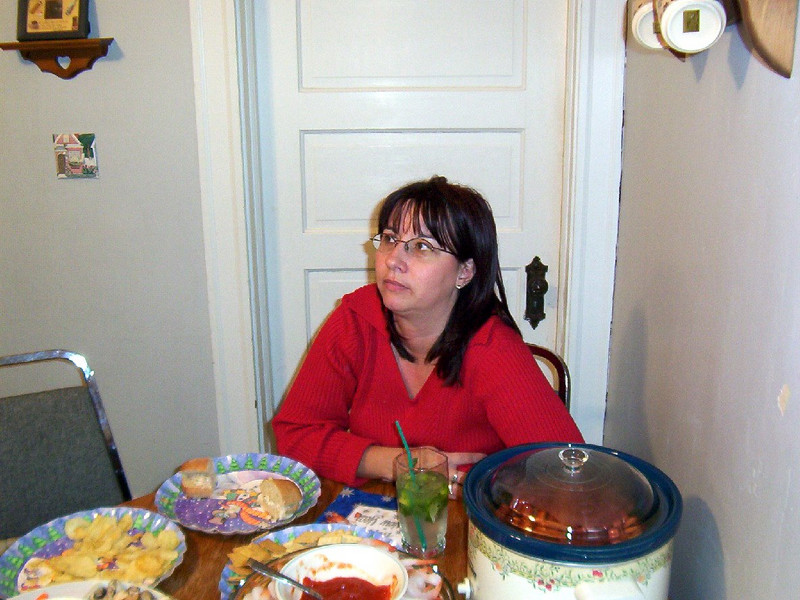 Lori at new years