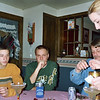 Travis Bisenius, Alex, Todd, Daryl and Angie at new years party