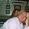 Mary Ann acting goofy with Mary in the background