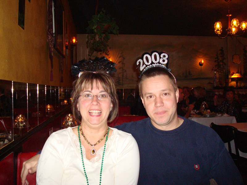 Lori and Todd at the elms on New Years Eve!