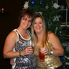 Lori and Mary all ready to go on New Years Eve ( 2011 )
