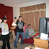 Alex and Stacy watch Erin and Todd dance with the Wii ( 2009 )