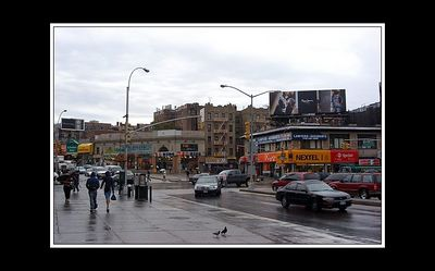 Welcome to a very wet Bronx..
