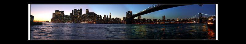 Big ole Manhattan Skyline...
