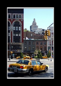 My continuing quest for the ubiquitous taxi photo - guess I'm getting closer