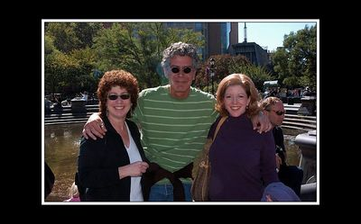 NYCgirl and Bettina with Chef and personality Anthony Bourdain.