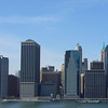 Lower Manhattan and the Staten Island ferries