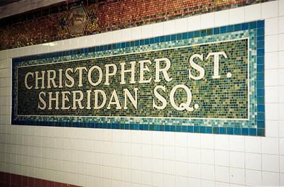 Christopher St/Sheridan Sq subway station