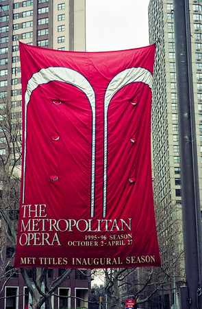 Metropolitan Opera banner