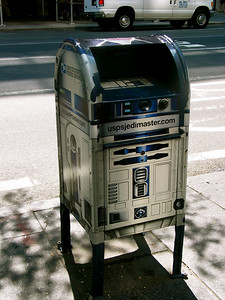 R2D2 mail box, New York