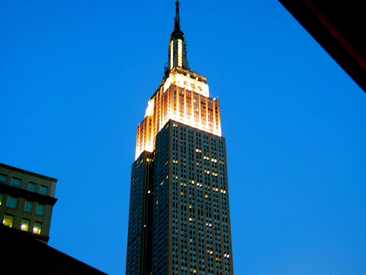 Empire State Building at dusk, New York