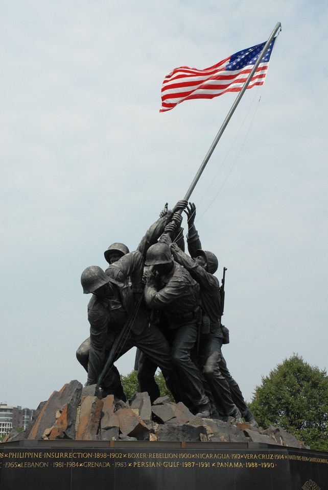 US Marines memorial, Arlington, Washington DC