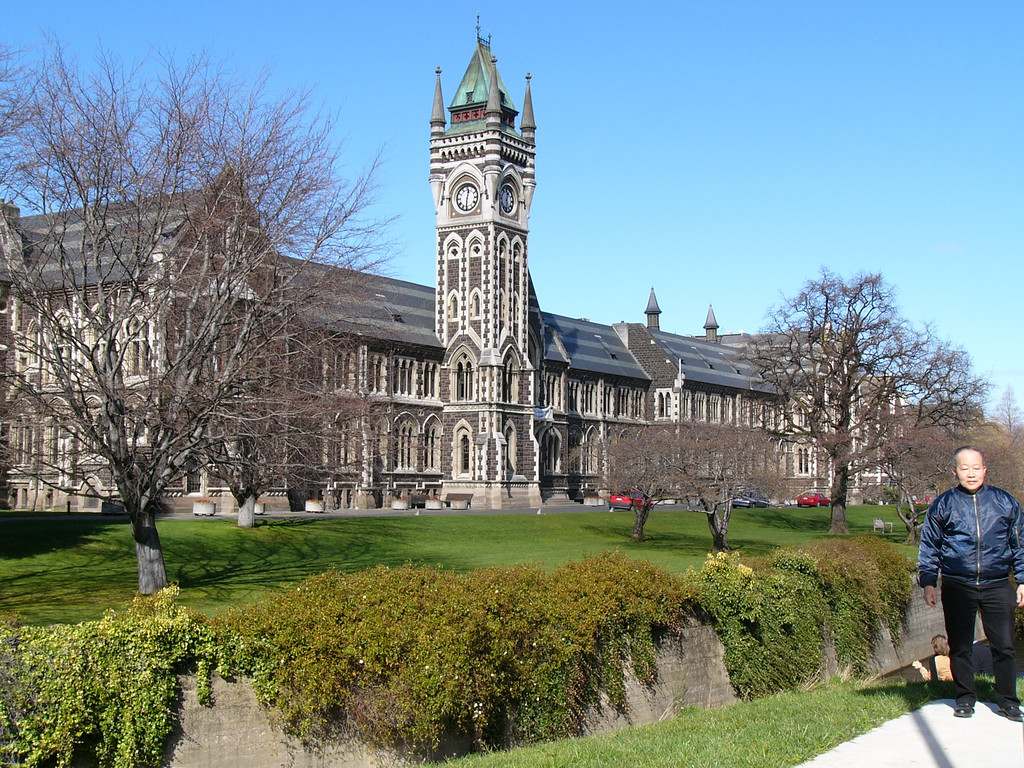 Dad and Mum studied at Dunedin university (the University of Otago).