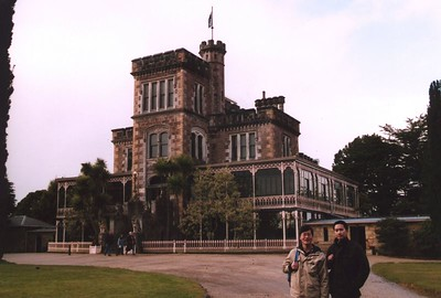 Lanarch Castle, close to Dunedin. Actually a mansion, of course! The original owner made his money from banking. Picture taken by Dr. Stephen Fong, with a Sigma SA-300N (35mm SLR).