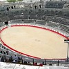 the arena in les Arenes in Nimes