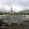 de Gualle memorial in Nimes