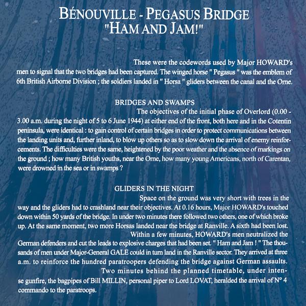 Bénouville-Pegasus Bridge, Normandy