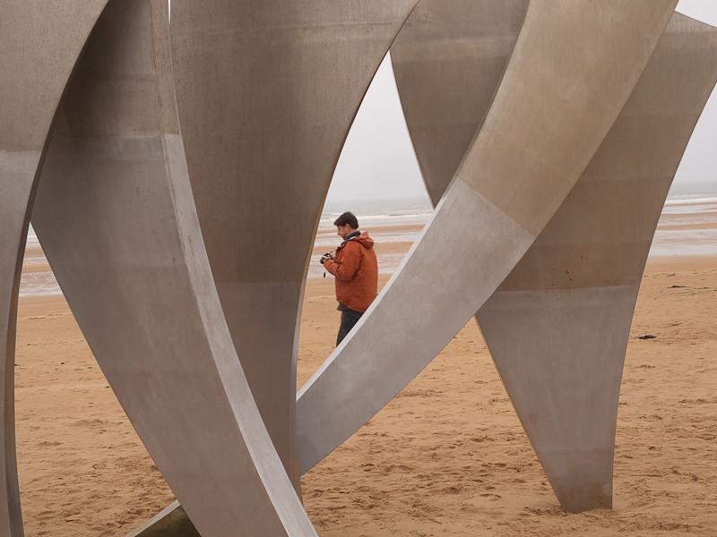 Omaha Beach, Saint-Laurent-sur-Mer, Normandy