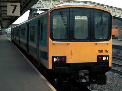 150 117 at Shrewsbury