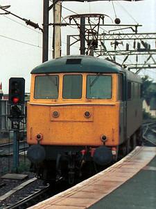 Class 86 at Wolverhampton