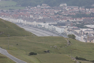 Llandudno from the top of the Great Orme. 26 June 2012