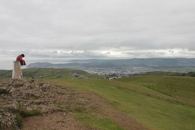Llandudno from the top of the Great Orme 26 June 2012