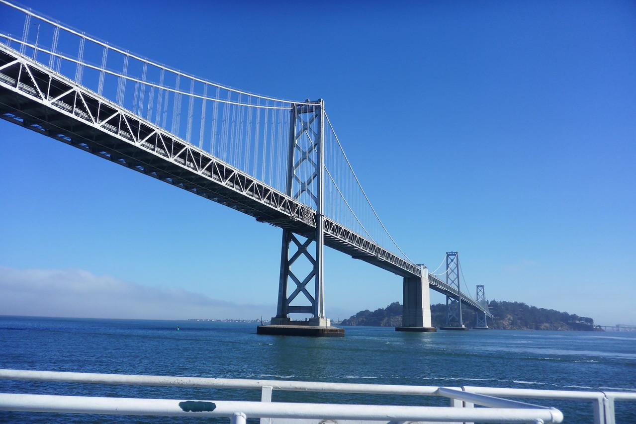 20160928_0945_3649 western span (Willie L. Brown Jnr) of San Francisco-Oakland bridge